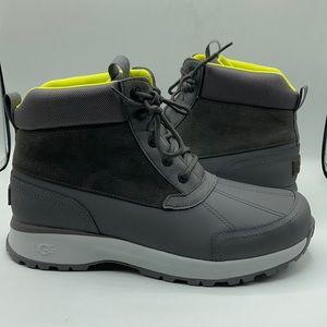 UGG Emmett Dark Grey Duck Rain Boots